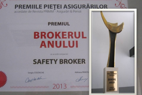 """Broker of the year in 2013"" Insurance Brokers Awards - within the Insurance Market Awards Gala - Xprimm Media"